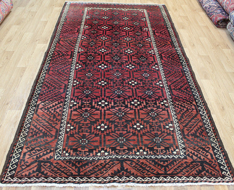 Antique Baluch Rug 285 x 145 cm