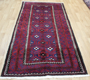 Antique Persian Baluch Rug 240 x 120 cm