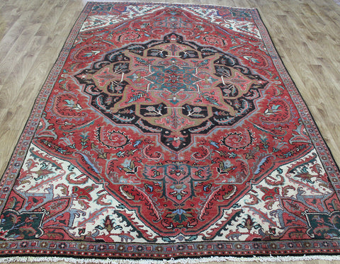Antique Persian Heriz Carpet 280 x 170 cm