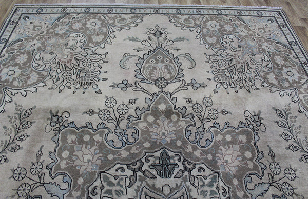 Overdyed Persian Tabriz Carpet 335 x 235 cm
