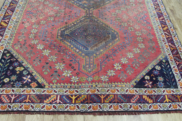 Antique Persian Qashqai Rug Circa 1900