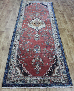 Antique Persian Hamadan runner 300 x 95 cm