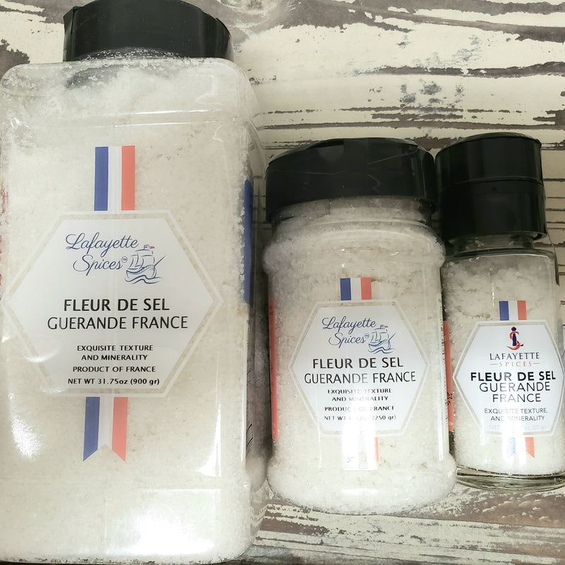 Fleur de Sel, it is considerably more rare and therefore more expensive than average table and sea salts. It forms naturally only under certain weather conditions, and it must be skimmed off the surface by hand.