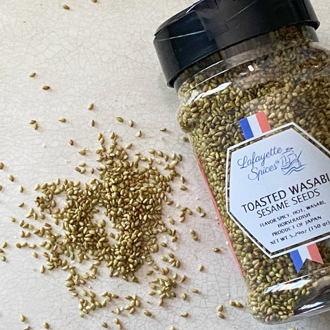 Toasted Wasabi Sesame Seeds   Spices Lafayette