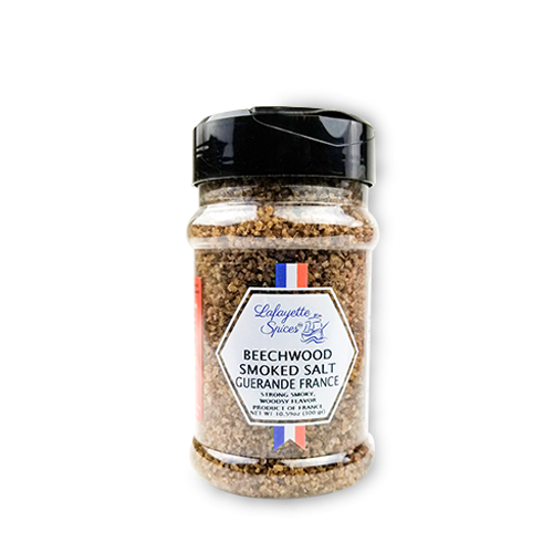 Beechwood Smoked Salt 330 ml container