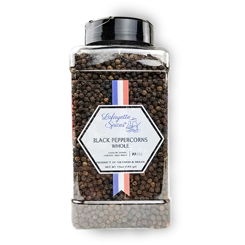 Black Peppercorns Whole 1000 ml container
