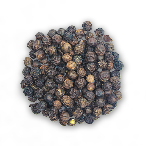Tellicherry Smoked Peppercorns close up