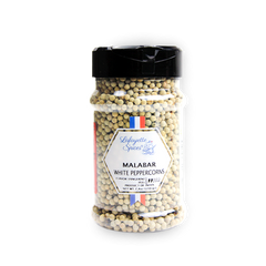 Malabar White Peppercorns 330 ml container