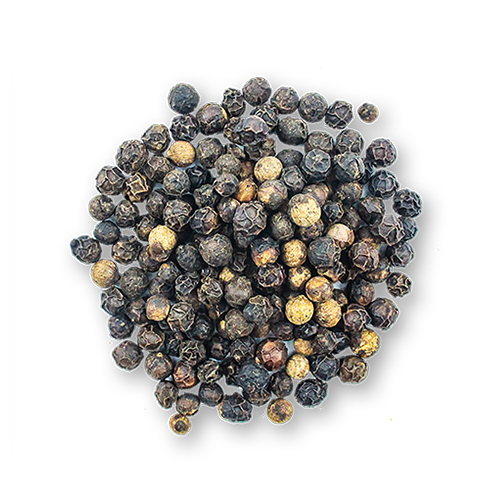 Sarawak Black Peppercorns close up