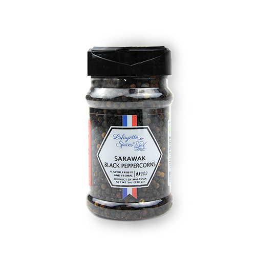 Sarawak Black Peppercorns 330 ml container