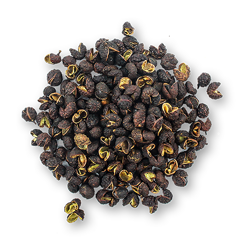 Timut Peppercorns close up
