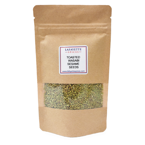 Toasted Wasabi Sesame Seeds - KRAFT BAG