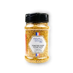 Toasted Yuzu Sesame Seeds 330 ml container