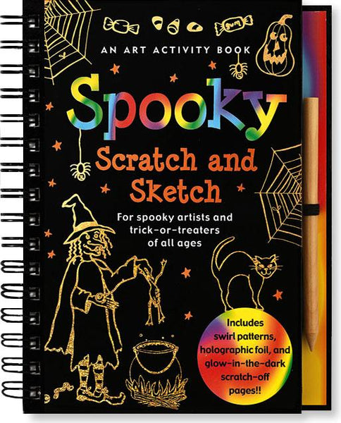 Scratch and Sketch Spooky