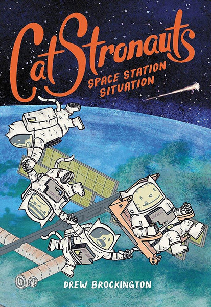 CatStronauts #3 Space Station Situation