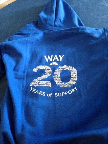 WAY 20th Birthday Pullover Hoodie Childrens Royal Blue