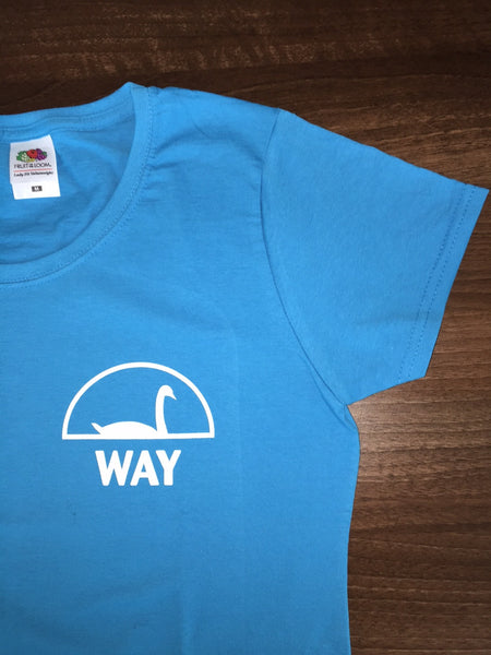 WAY Women's Blue T-Shirt