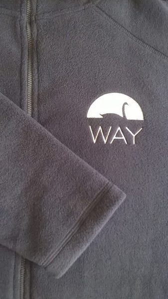 WAY Adult Ladies Navy Blue Fleece Jacket