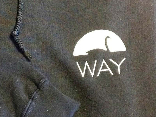 WAY Adult Navy Blue Hoodie
