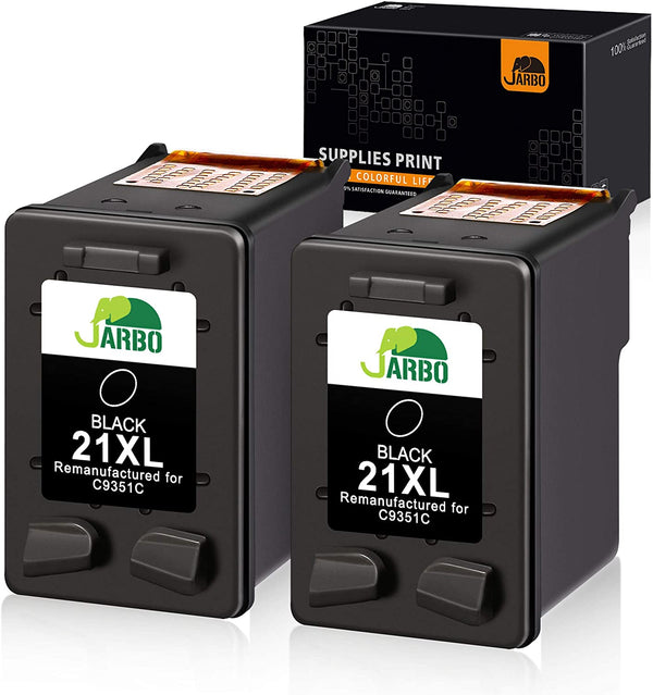 Jarbo Remanufactured for HP 21XL/22XL Ink Cartridge