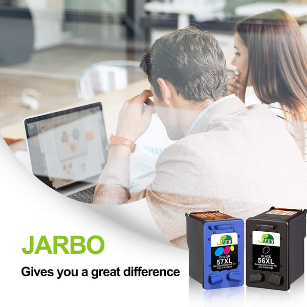 Jarbo Manufactured 56XL/57XL Ink Cartridge for HP