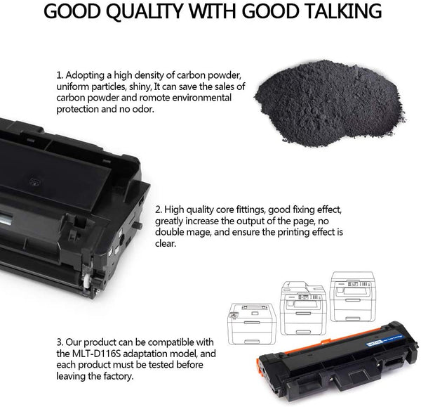 Jarbo Compatible for Samsung MLT-D105L Toner Cartridges