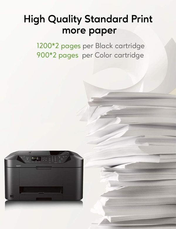 Jarbo Compatible for Canon 1200XL Ink Cartridges