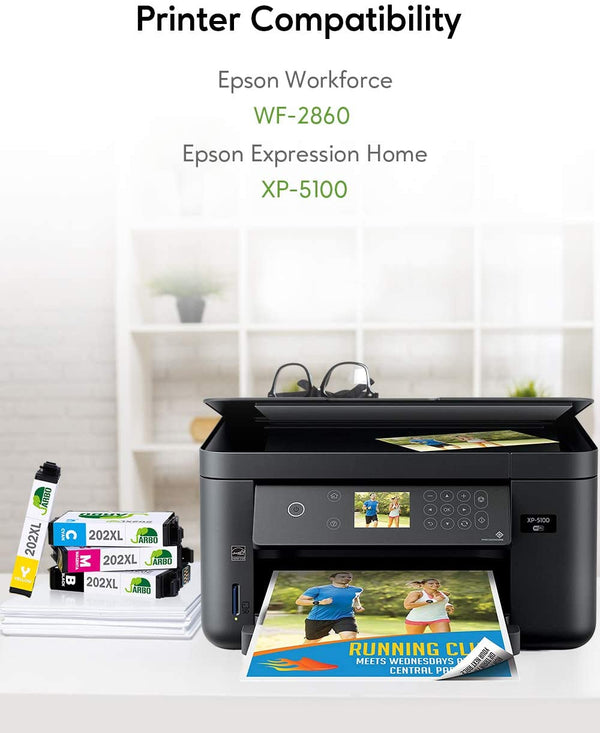 Jarbo Compatible for Epson 202XL Ink Cartridges