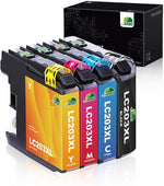 Jarbo Compatible for Brother LC203XL Ink Cartridges