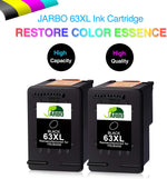 Jarbo Remanufactured 63XL Ink Cartridge Replacement for HP