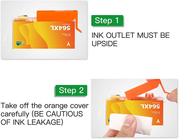 Jarbo Compatible for HP 564XL Ink Cartridges