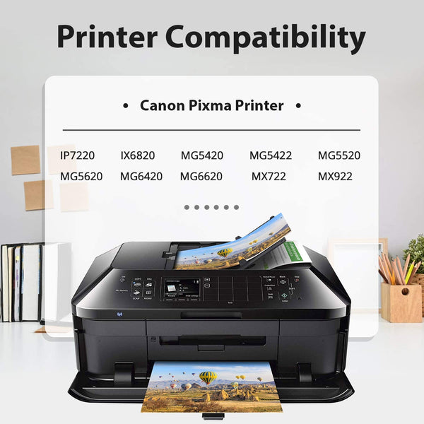 Jarbo Compatible for Canon 250XL 251XL Ink Cartridges