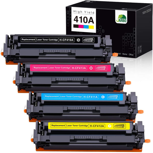 Jarbo Compatible for HP 410A CF410A Toner Cartridges