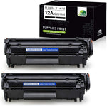 Jarbo Compatible for HP 12A Q2612A Toner Cartridges