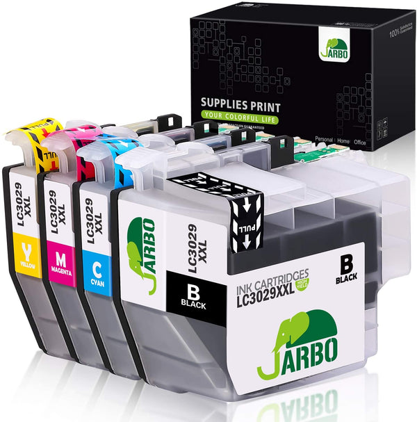 Jarbo Compatible for Brother LC3029XXL Ink Cartridges