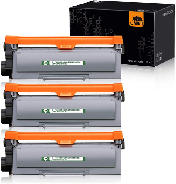 Jarbo Compatible for Brother TN660 Toner Cartridges