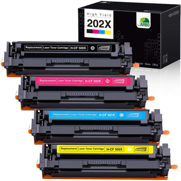 HP 202X/CF500X Fully Compatible Toner Cartridges
