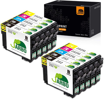 Jarbo Compatible for Epson 252XL Ink Cartridges