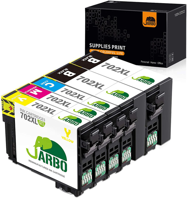 Jarbo Compatible for Epson 702XL Ink Cartridges