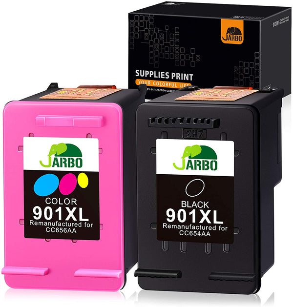 Jarbo Remanufactured 901 Ink Cartridge for HP