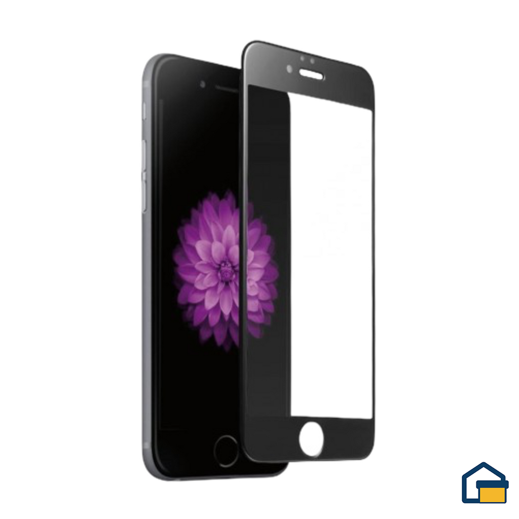 Glass Screen Protecter (Negro) Iphone 6