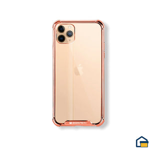 Wonder Protect funda trasnparente para iPhone 11 Pro (Rosado)