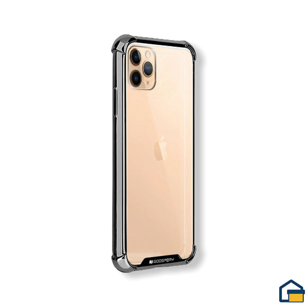 Wonder Protect funda trasnparente para iPhone 11 Pro (Negro)