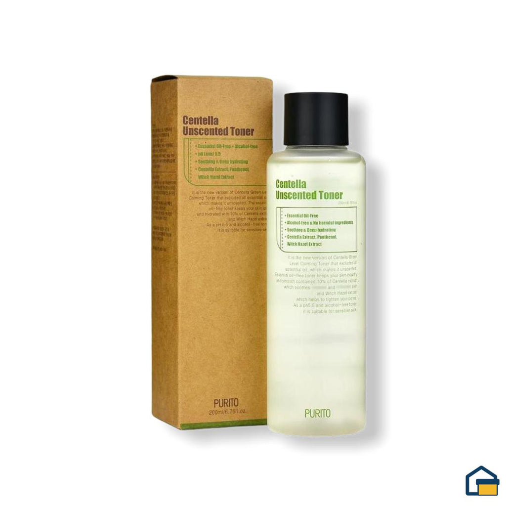 Purito Centella Unscented Toner - 200 ml