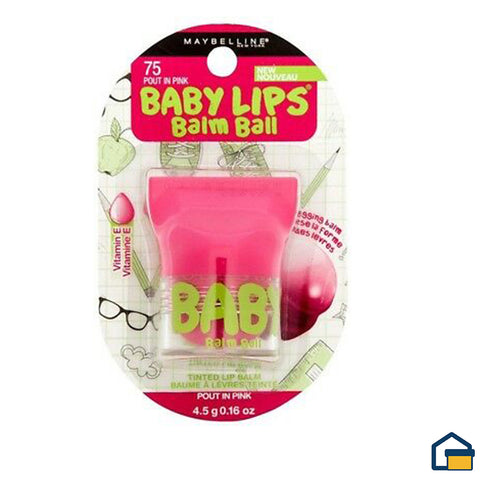 Maybelline Baby Lips Balm Ball (Pout In Pink)