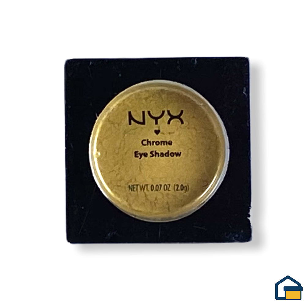 NYX Chrome Eye Shadow Sombra (Canary)