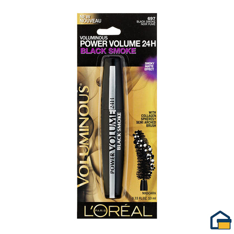 L´Oreal Power Volume 24H Mascara de Pestañas (Black Smoke)