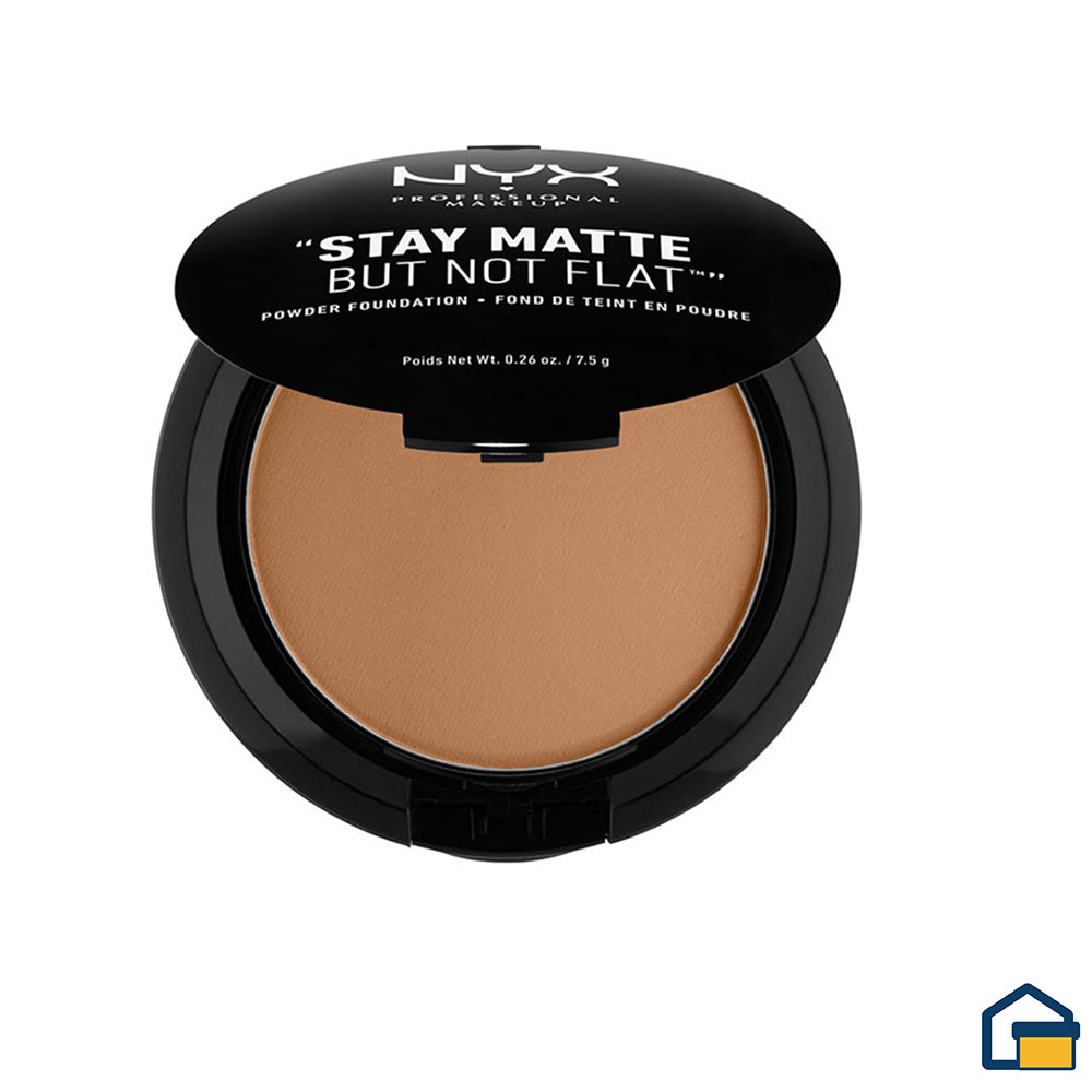 NYX Powder Foundation Polvo (Medium)