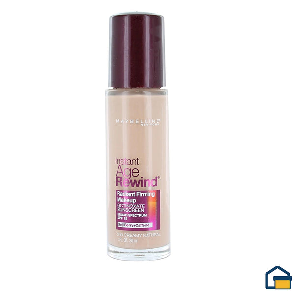 Maybelline Instant Age Rewind Radiant Base Liquida (Creamy Natural)