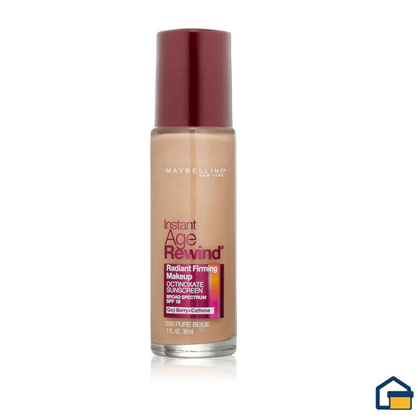 Maybelline Instant Age Rewind Radiant Base Liquida (Pure Beige)